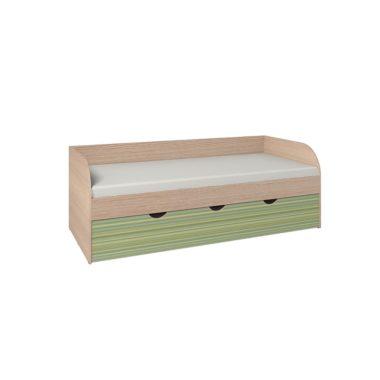 Калейдоскоп Кровать 5 + ФАСАД Радуга зеленая