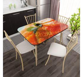 Столы Стол с фотопечатью стекло