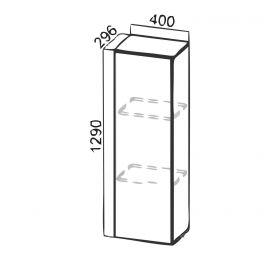 """""""Лофт"""" SV-Мебель ПН400 к шкафу Н720 (296)"""