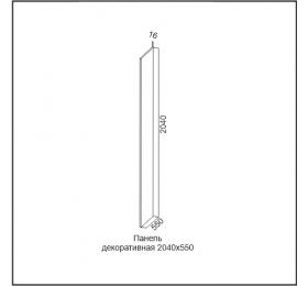 """Лофт"" SV-Мебель Панель 2140"