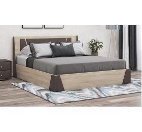 Кровать с обивкой «Лагуна» с ПМ