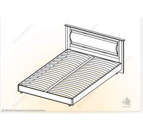 """Камелия"" Кровать «Камелия» КР1.4х2"